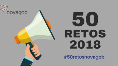 50 retos de las Administraciones Públicas en 2018 #50retosnovagob