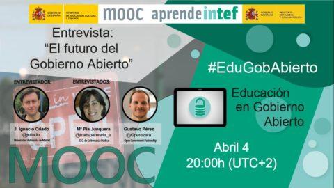 Balance del primer MOOC en español sobre Educación en Gobierno Abierto #EduGobAbierto