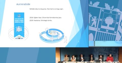 Aurrerabide kluba, reconocido en la jornada sobre «La Gestión Avanzada en el Gobierno Vasco