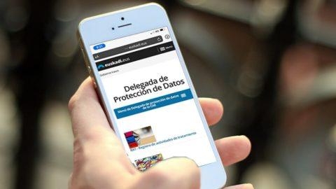 Publicada la página web de la Delegada de protección de datos
