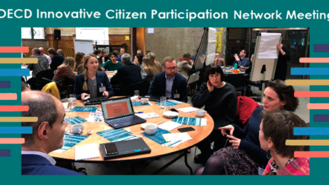 El Director de la DACIMA Javier Bikandi participa en la Red de Participación Ciudadana Innovadora de la OCDE