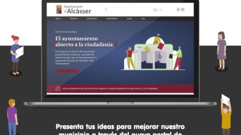 96. El Ayuntamiento de Alcàsser pone en marcha 13 portales web con los nuevos Piscina, Participa, Visor, eTributa, PortalEmp, ComprarEnAlcasser y AlterAlcasser (25-jun-2021)
